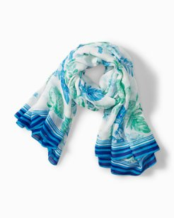 Florals Falling Convertible Scarf