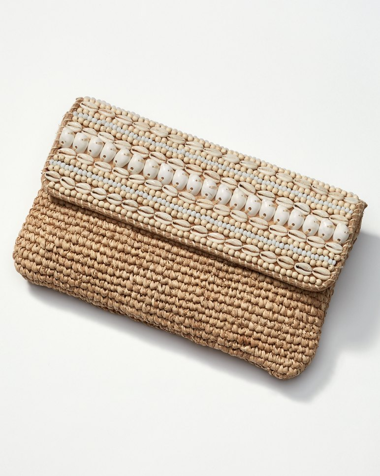 Main Image for Cowrie Flapover Clutch