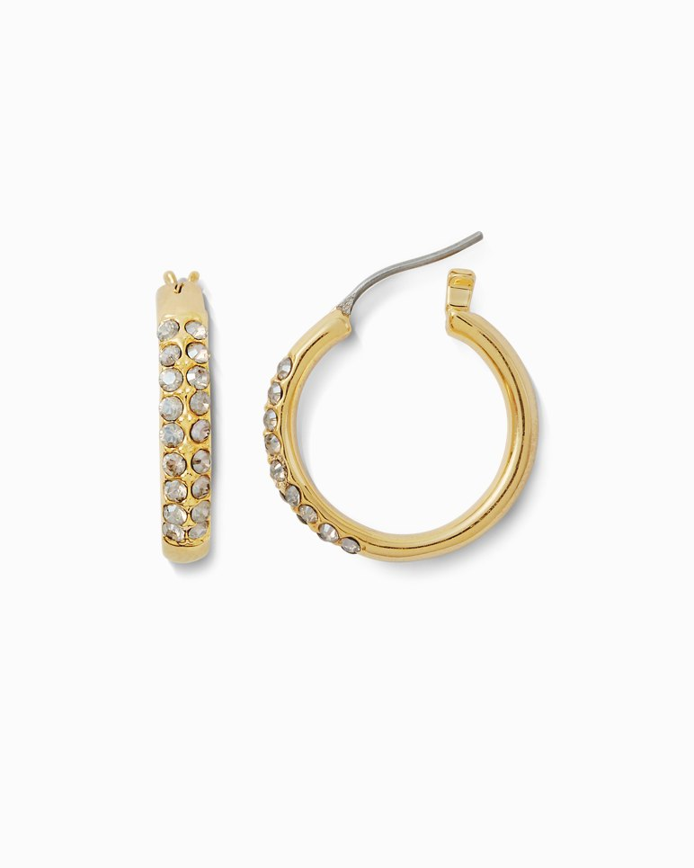 Main Image for Swarovski Crystal® Hoop Earrings