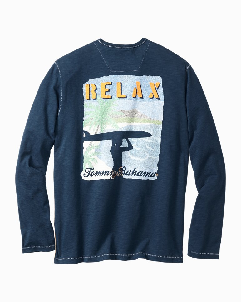 Vintage surf long sleeve t shirt for Retro long sleeve t shirts