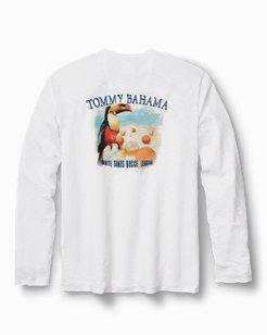 White Sands Bocce League Long-Sleeve Lux T-Shirt