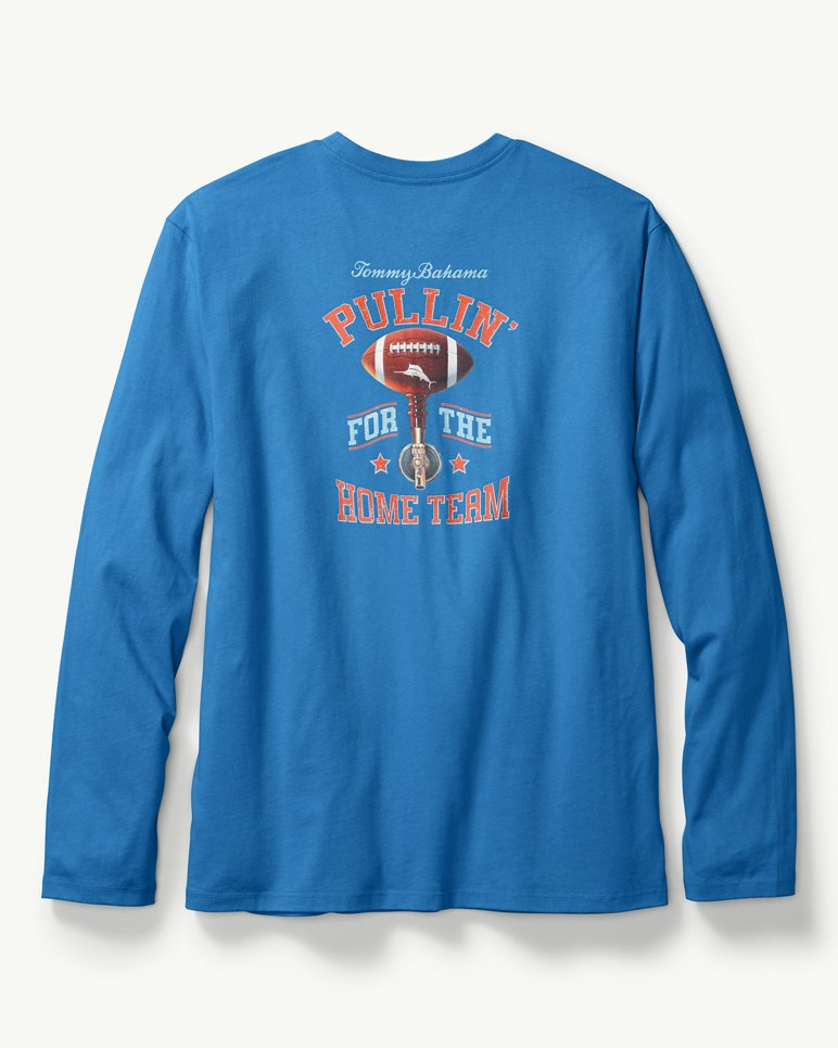 Pulling for The Home Team Long-Sleeve T-Shirt