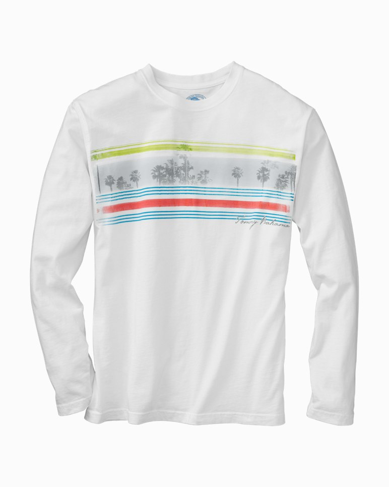 Island Stripes Long-Sleeve T-Shirt