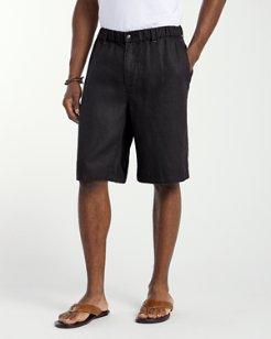 Linen Out Loud 11-inch Linen Shorts