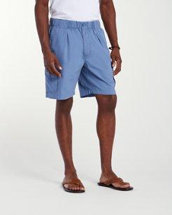 Bahama Survivor 8-inch Elastic-Waist Shorts