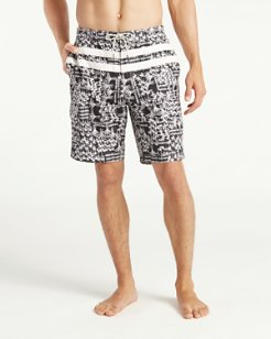 Baja Palm Gardens 9-Inch Board Shorts