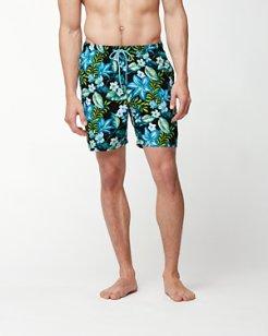 Naples Tropic Like It's Hot 6-Inch Swim Trunks