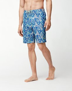 Baja Geo Trio 9-Inch Board Shorts