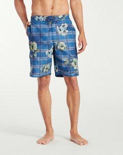 Baja House Of Plaid 9-Inch Board Shorts