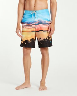 Baja Pixel Pier 9-Inch Board Shorts