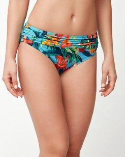 Floriana High-Waist Sash Bikini Bottoms