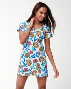 Fira Floral T-Shirt Dress