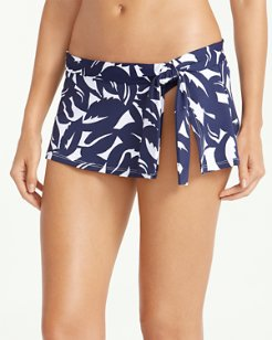 Graphic Jungle Skirted Hipster Bikini Bottoms