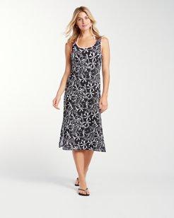 Pinwheel Palms Tank Dress