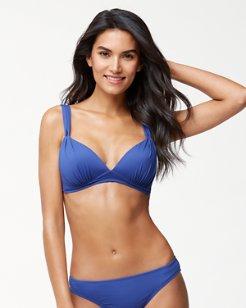 Pearl Over-The-Shoulder Loop Strap Bikini Top