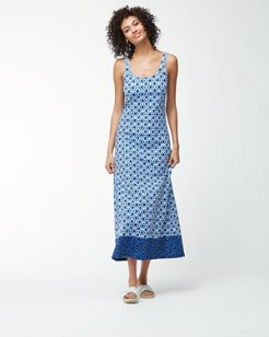 Shibori Splash Tank Dress