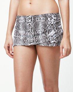 Snake Charmer Wrap-Skirt Hipster Bikini Bottoms