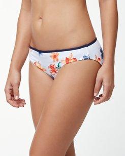 Floral Showers Reversible Hipster Bikini Bottoms