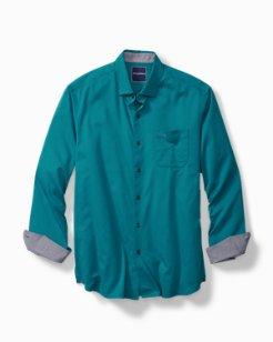 Trim Fit Oasis Twill Stretch Shirt
