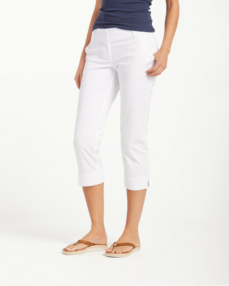 Main Image for Sail Away Twill Cropped Pants