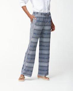 Greek Grid Pants