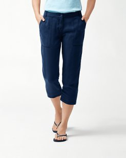 Layanna Twill Cropped Pants