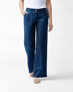 Sea Glass Linen Pants