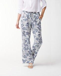 Olympias Blooms Linen Pants