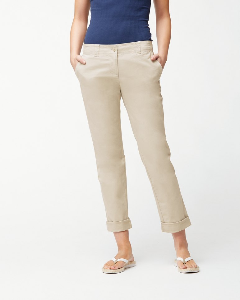 Main Image for Sail Away Twill Boyfriend Pants