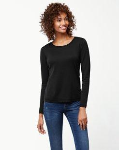 Indio Crewneck Long-Sleeve T-Shirt