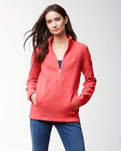 Aruba Angle Pocket Half-Zip Sweatshirt