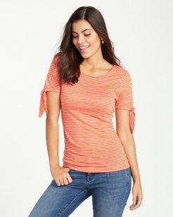 Linnea Belo Stripe Linen T-Shirt