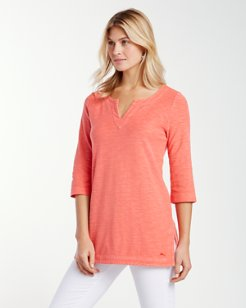 Knoll Jersey 3/4-Sleeve Tunic