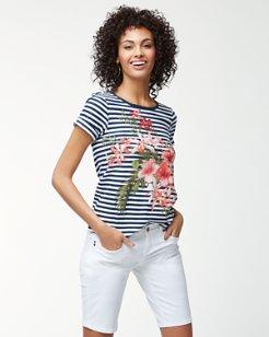 Sacred Groves Stripe T-Shirt