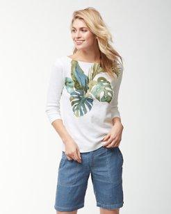 Villa Fronds 3/4-Sleeve T-Shirt