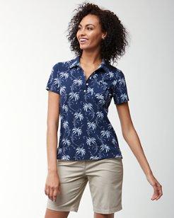 Palm Tree Tropics Polo