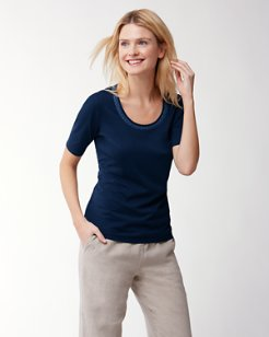 Seaport Embroidered T-Shirt