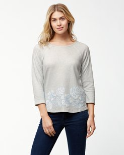 Monstera Mash 3/4-Sleeve T-Shirt