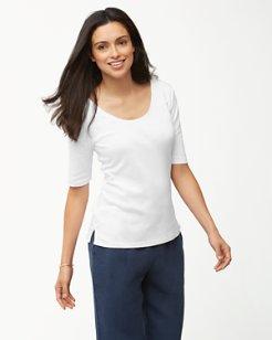 Indio Elbow-Sleeve T-Shirt