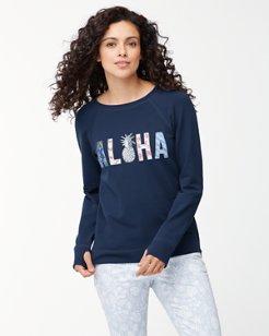 Jen & Terry Aloha Crewneck Sweatshirt
