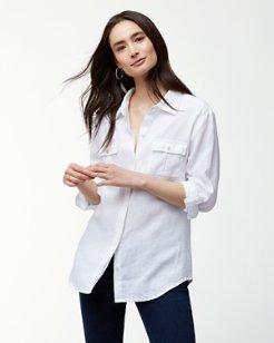 Two Palms Linen Shirt