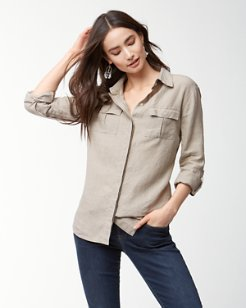 Two Palms Linen Shirt