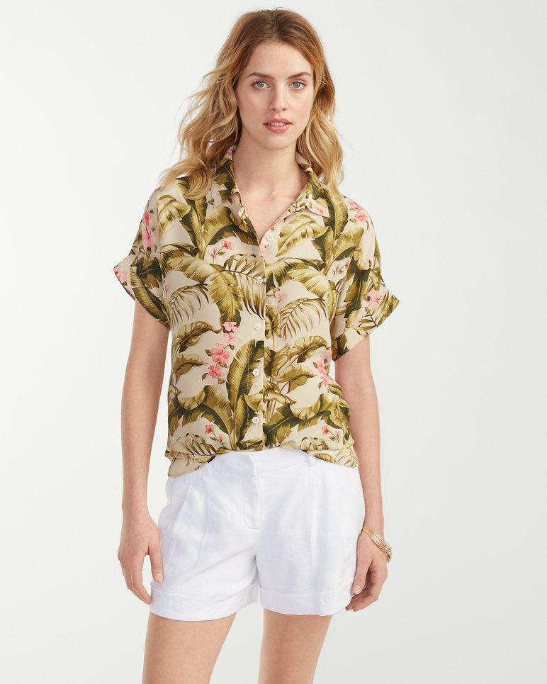 Beau jardin silk boyfriend shirt for Beau jardin