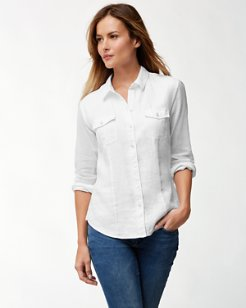 Orion Linen-Mix Shirt