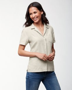 Two Palms Linen Camp Shirt