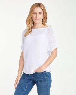 Paradise Sun Short-Sleeve Sweater