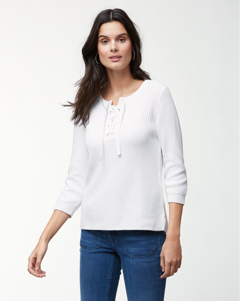 Main Image for Pickford Lace Up Sweater