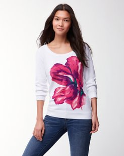 Kavala Blossoms Pullover Sweater