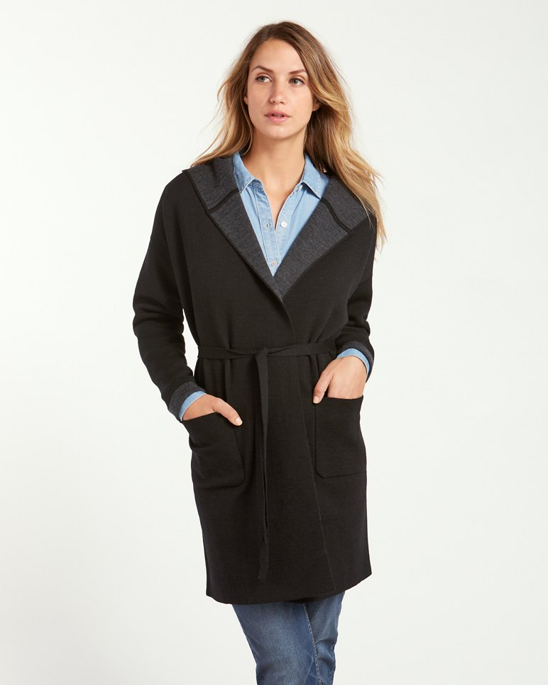 Main Image for Woodlyn Hooded Sweater Coat