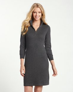 Pickford Cable Half-Zip Dress